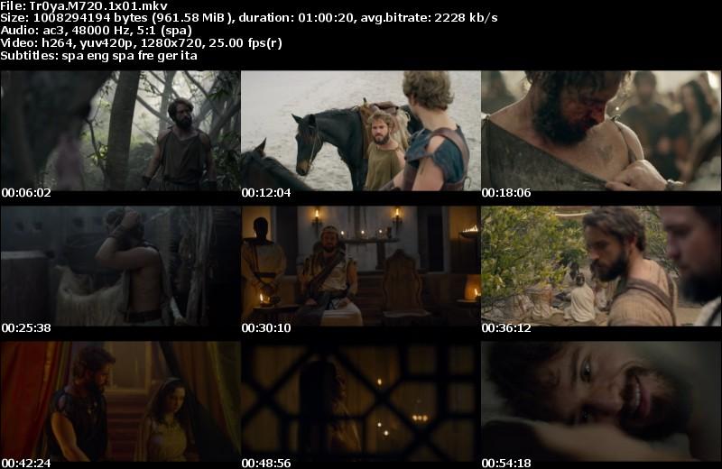 Troya: La Caída de una Ciudad (2018)[Miniserie][MicroHD 720p][Castellano][8/8][1GB][VS]