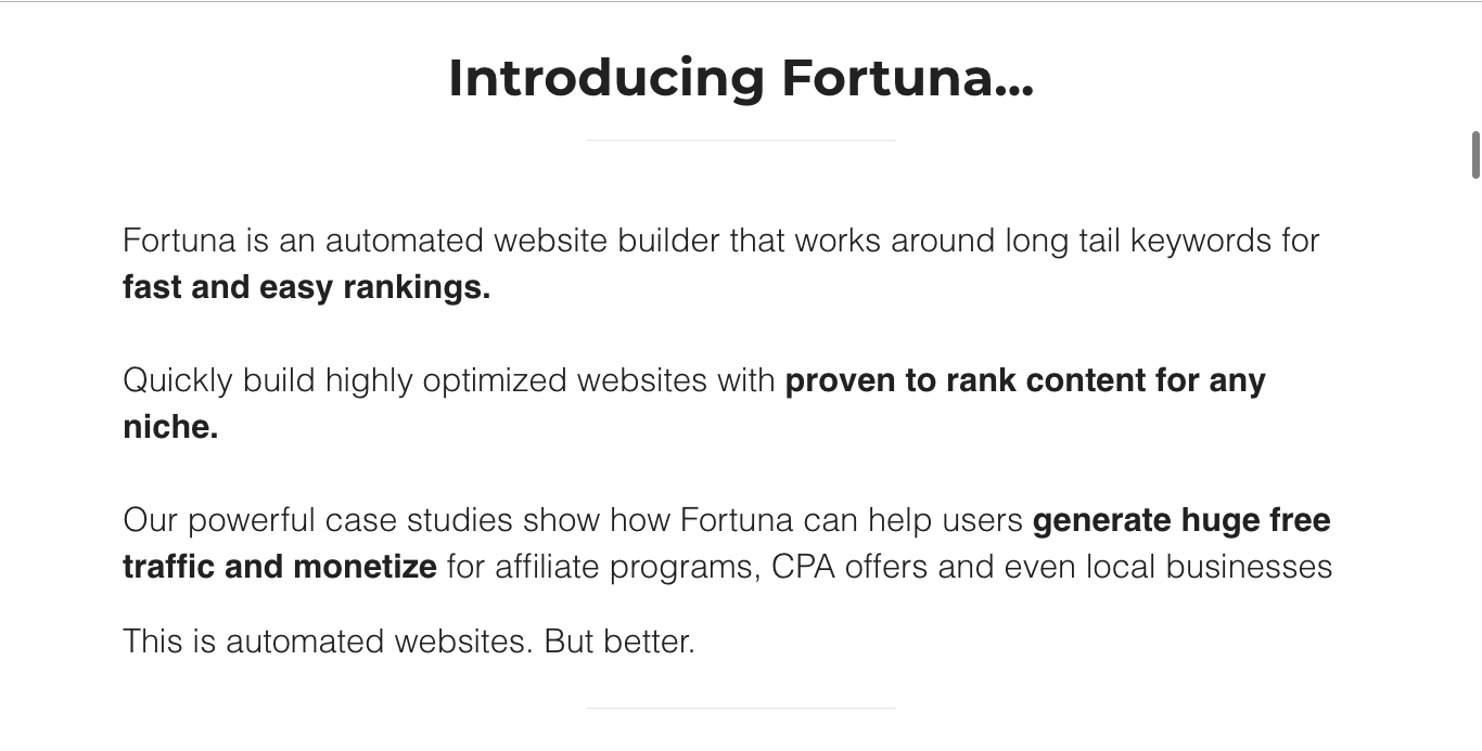 Fortuna Review