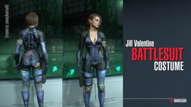 Jill Valentine Battlesuit Costume At Resident Evil 3 2020 Nexus Mods And Community
