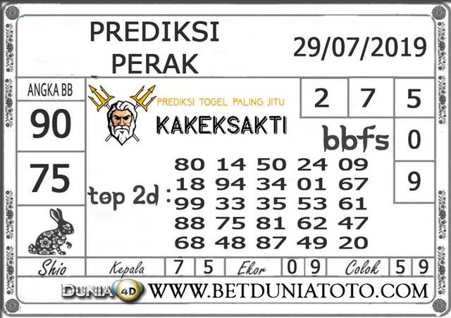 """Prediksi Togel """"PERAK"""" DUNIA4D 29 JULI 2019"""