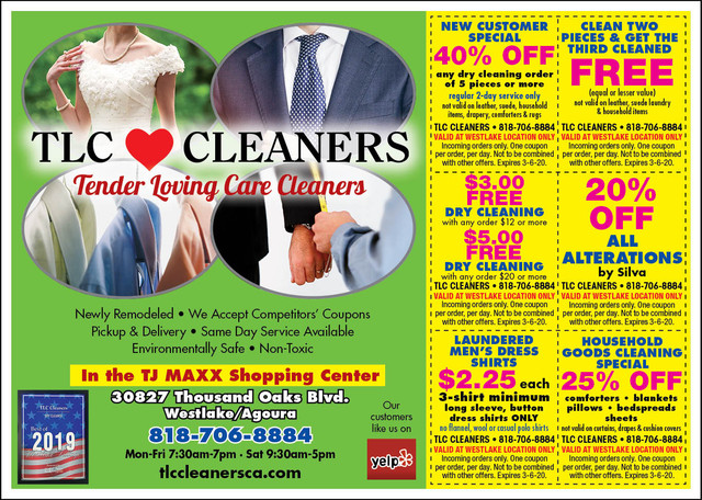 Cleaners-coupon