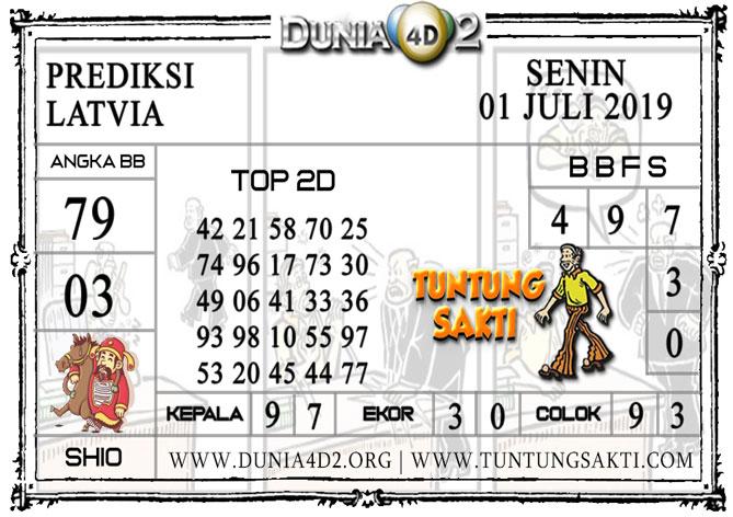 "Prediksi Togel ""LATVIA"" DUNIA4D2 01 JULI 2019"