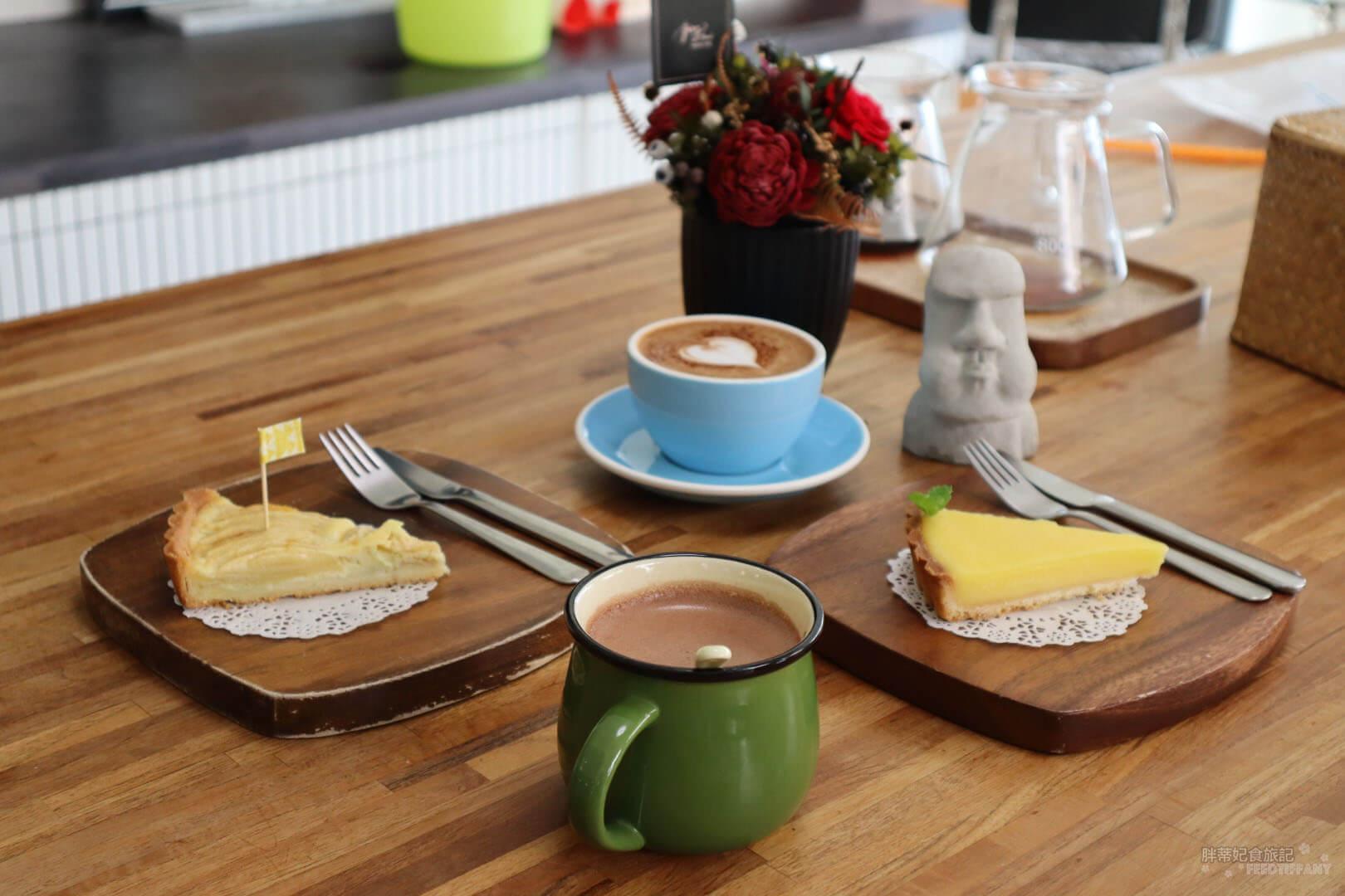 Twi A錘子咖啡烘焙坊 的甜點與咖啡的合照