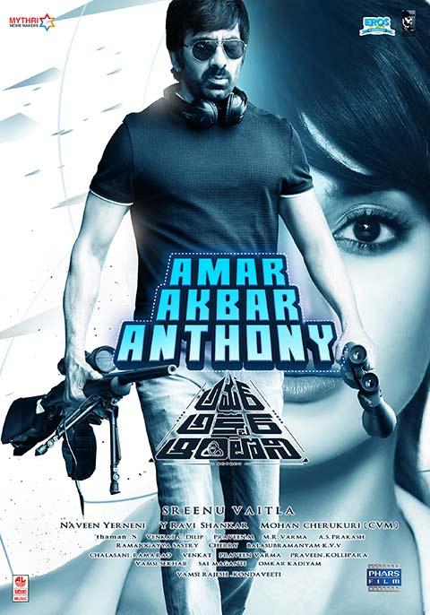 Amar Akbhar Anthoni (Amar Akbar Anthony) 2019 Hindi Dubbed Movie Web-dl x264 AC3