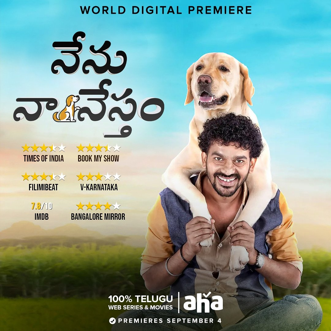 Nenu Naa Nestham 2020 Telugu 720p HDRip ESub 900MB | 400MB Download