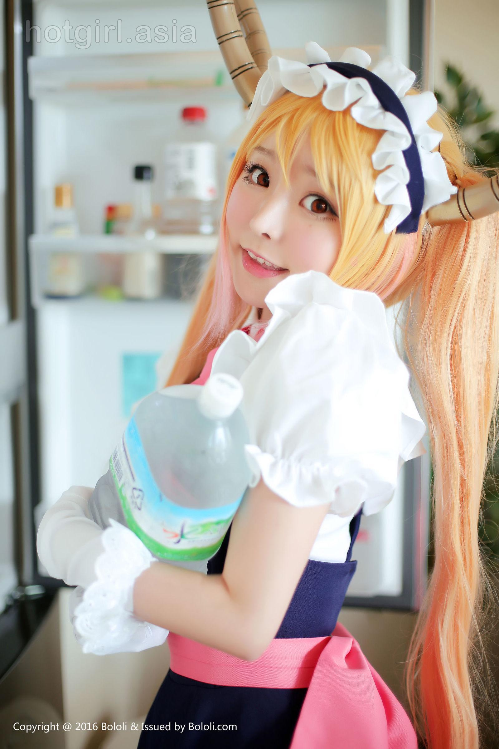 [Bololi 波洛 社] BOL.047 Liu Yuqi Xia Meijiang-Daily version of _Kobayashis Dragon Maid_