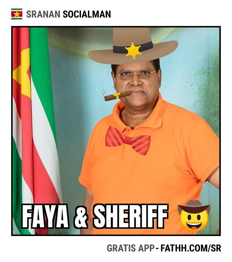 Sranan Socialman : Faya & Sheriff