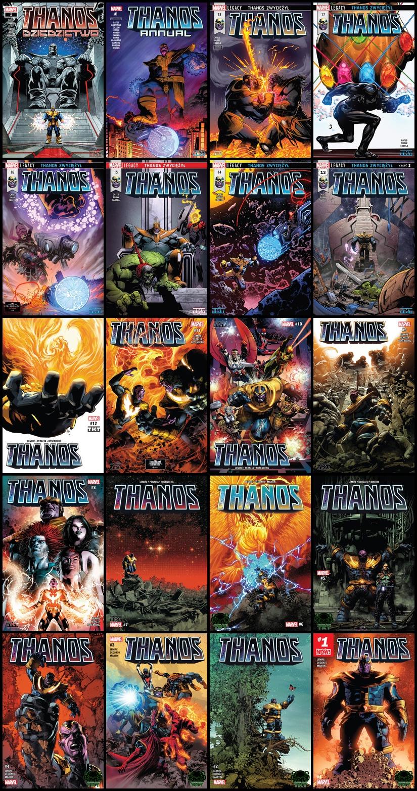 Thanos - Różne Serie