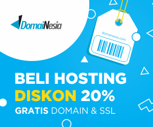 DomaiNesia hosting paling murah