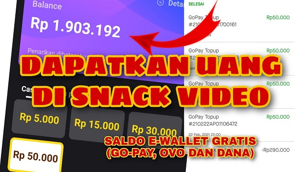 Yuk Garap Event Snack Video