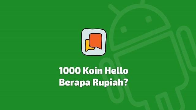 Cara Mendapatkan Koin Di Aplikasi Hello Dengan Mudah Terbaru