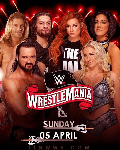 WWE Wrestlemania 36 (5th April 2020) English 1080p HDTV 7.3GB DL