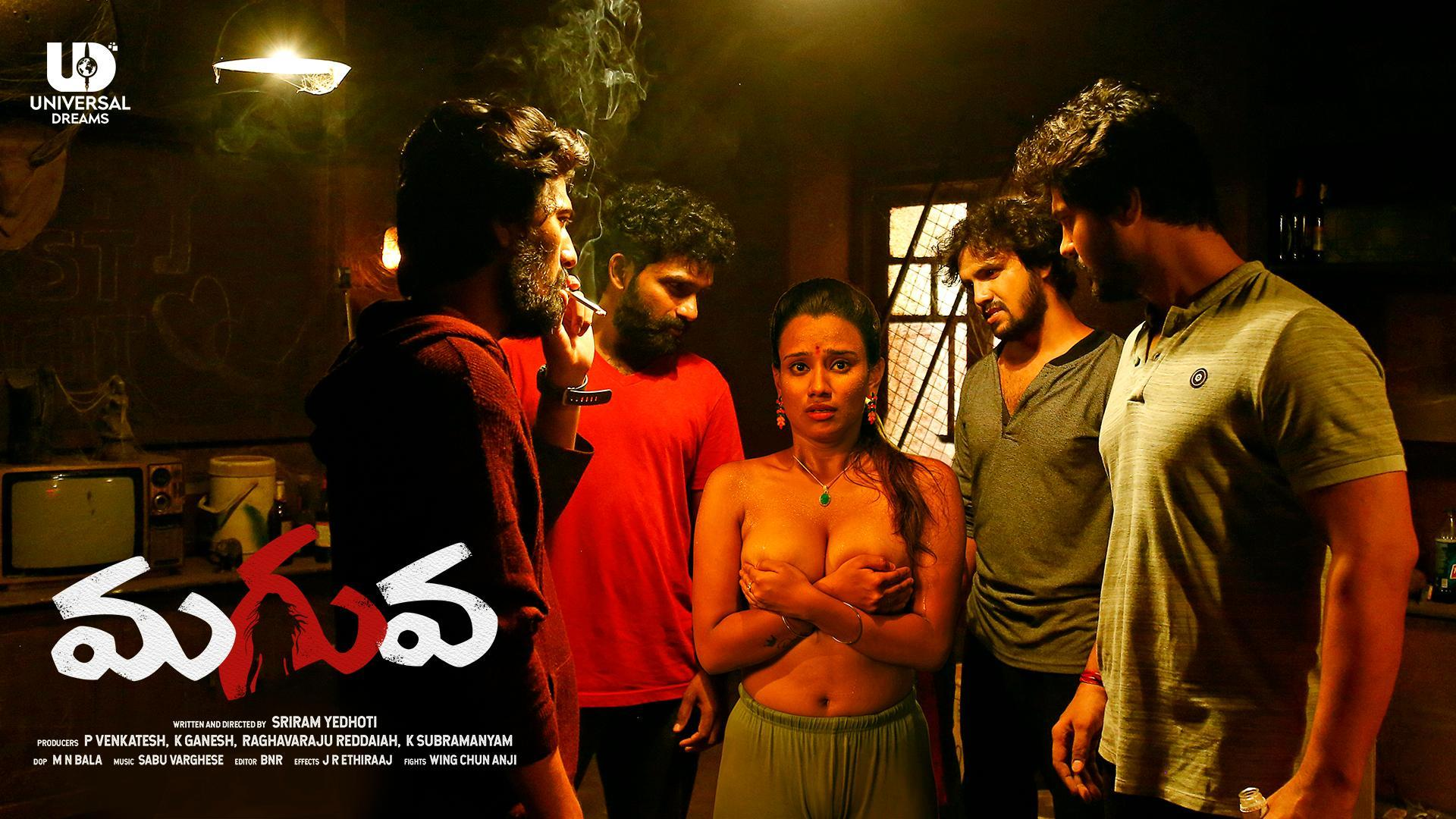 18+ Maguva 2020 Telugu 720p HDRip 500MB Watch Online