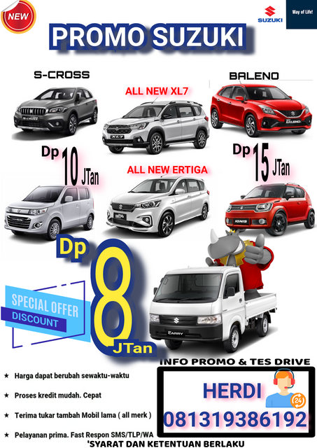 Promo Suzuki Bekasi