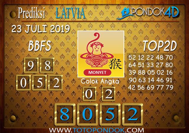 Prediksi Togel LATVIA POOLS PONDOK4D 23 JULI 2019
