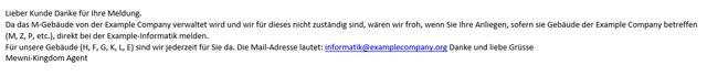 Formatting inside Outlook