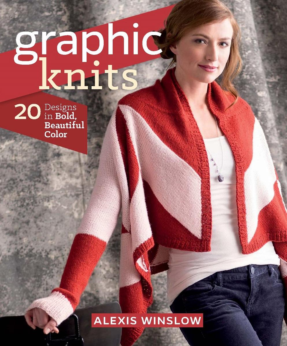 Английский журнал по вязанию Graphic Knits