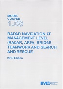 Model course 1.08: Radar navigation at management level (radar,arpa,bridge teamwork and search and rescue)