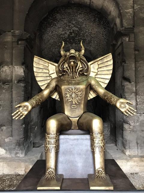 estatua-moloch-hillary-clinton