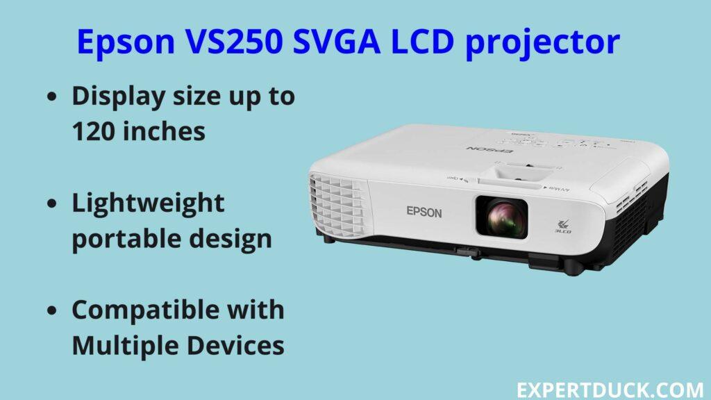 Epson VS250 SVGA LCD projector