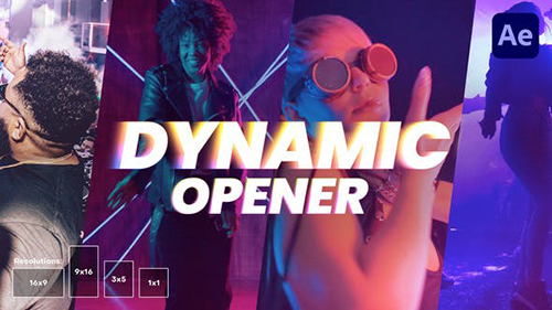 Dynamic Promo Opener 33276166 - Project for After Effects (Videohive)