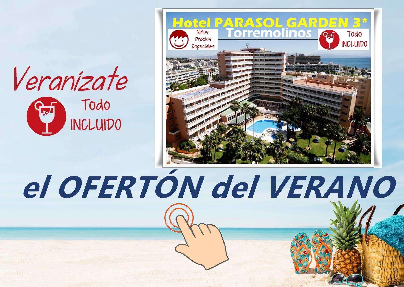 Chollo del verano con Viajes MundiPlayas en Hotel PARASOL GARDEN 3*