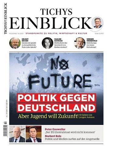 Cover: Tichys Einblick Magazin No 10 Oktober 2021