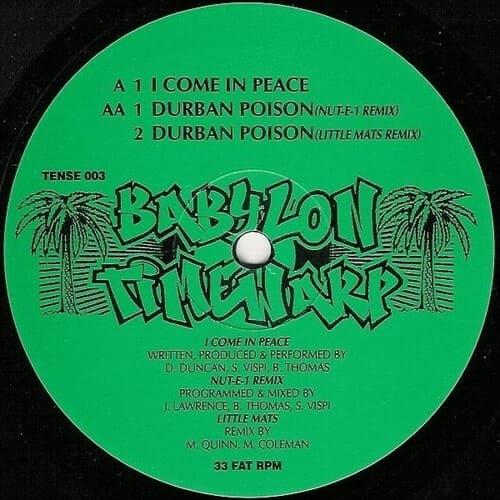 Download Babylon Timewarp - I Come In Peace / Durban Poison Remix mp3