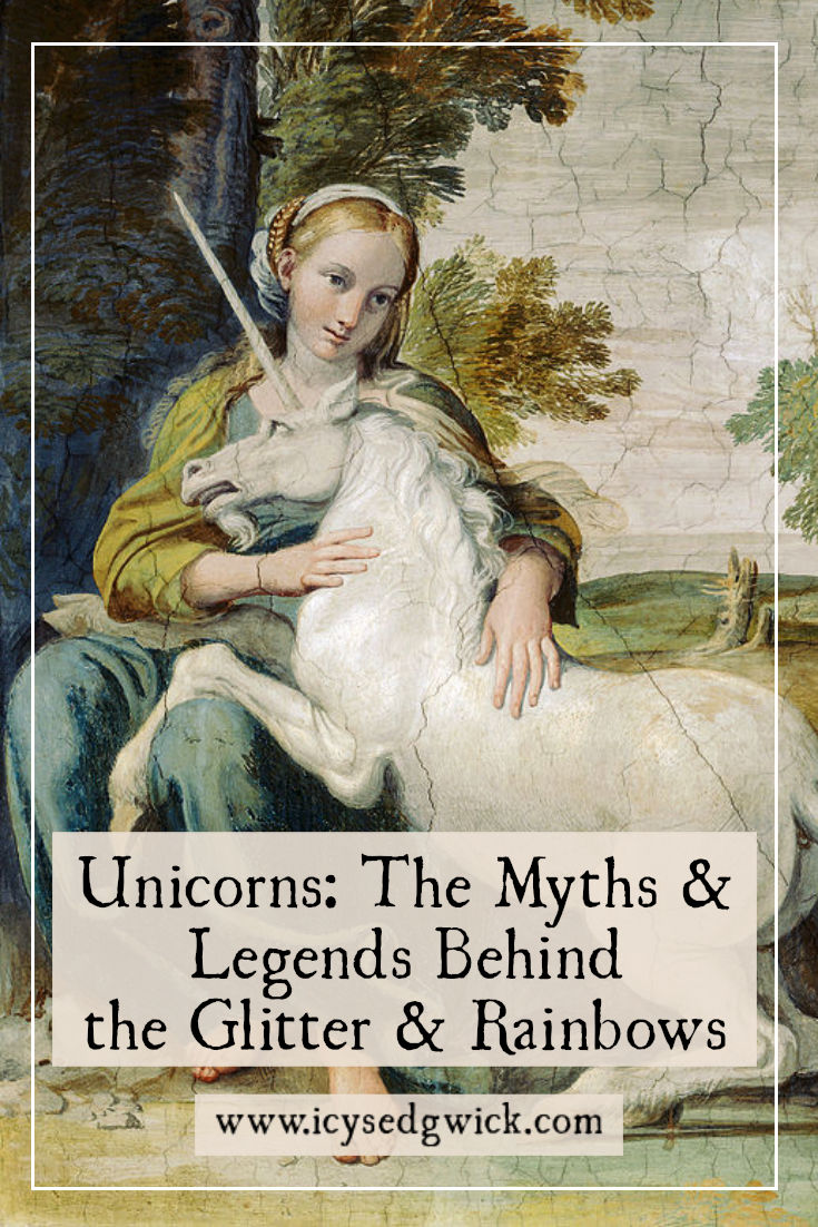 Unicorns might be more popular as children's decorations, but how do these gentle creatures appear in legend? Click here to find out.