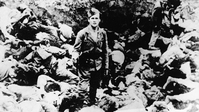 Victims of bloody terror in the Jasenovac concentration camp