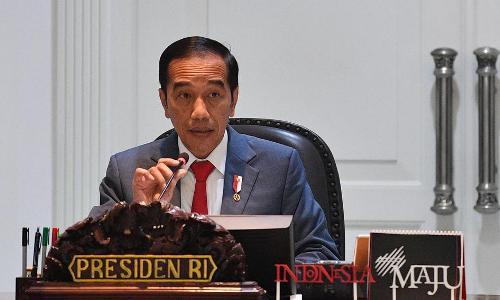 Jokowi Nyatakan 2 WNI di Indonesia Positif Virus Corona