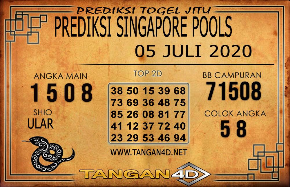 PREDIKSI TOGEL SINGAPORE TANGAN4D 05 JULI 2020