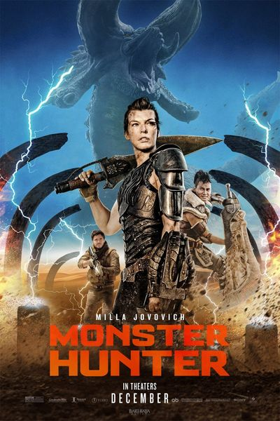 Monster Hunter (2020) English 720p WEB-DL x264 AAC 800MB Dwonload