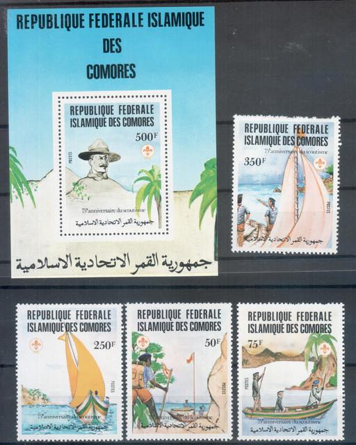Comores-Scouts
