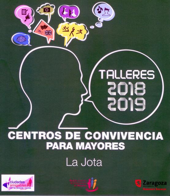 Cartel Talleres 2018 2019