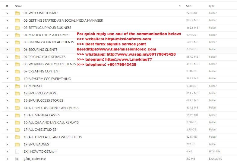 Rachel Pedersen - Social Media University (Total size: 31.22 GB Contains: 33 folders 414 files)