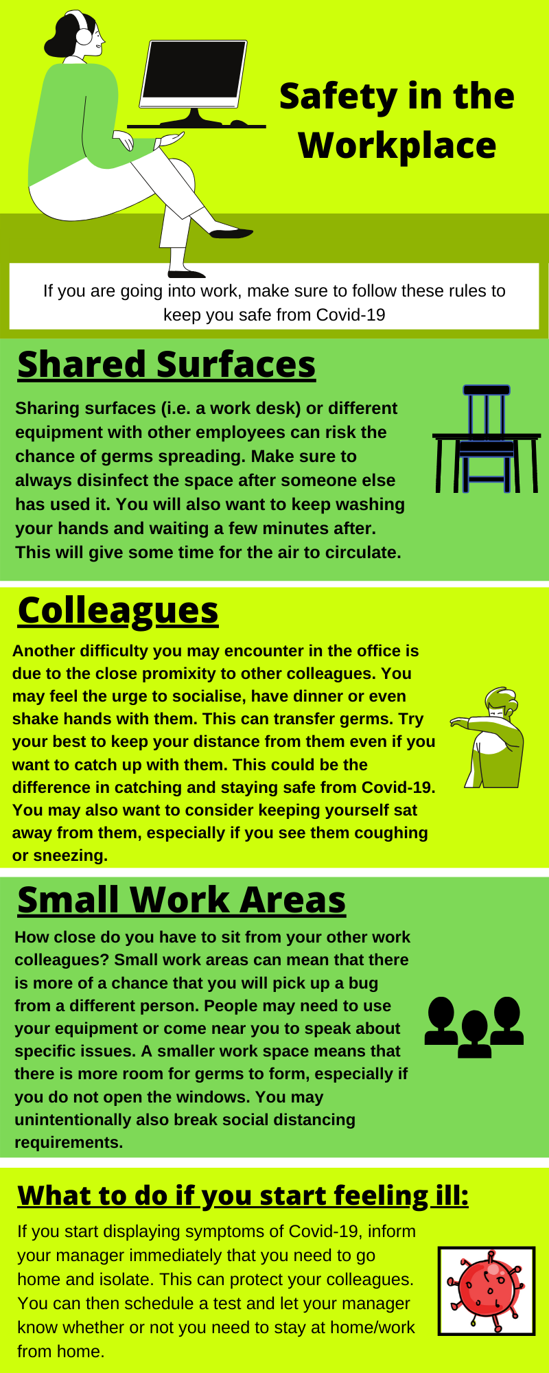 safety in the office infographic