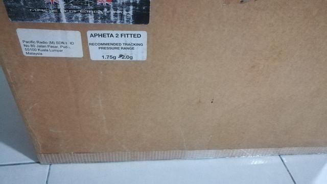 Rega RP 10 Turntable with Apheta 2 MC Cartridge & RP10 PSU 2