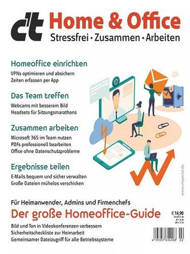 Cover: ct Magazin für Computertechnik Sonderhefte Home & Office No 02 2021