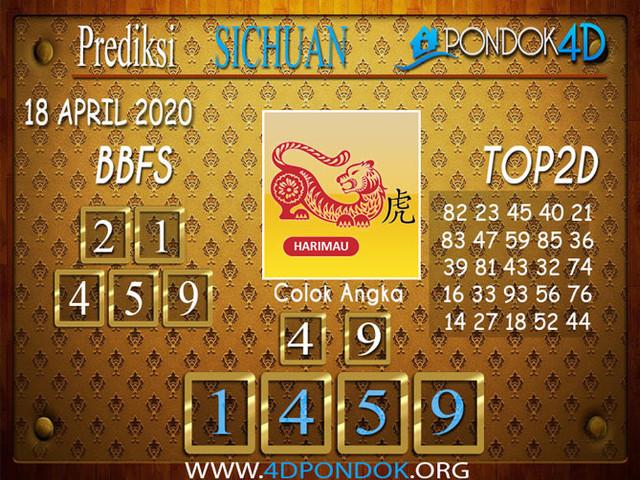 Prediksi Togel SICHUAN PONDOK4D 18 APRIL 2020