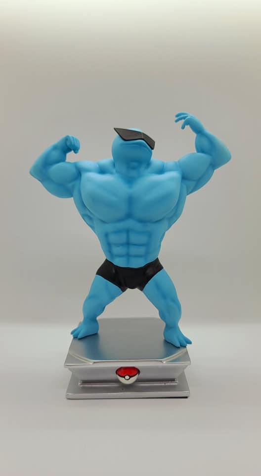肌肉寶可夢模型 Image