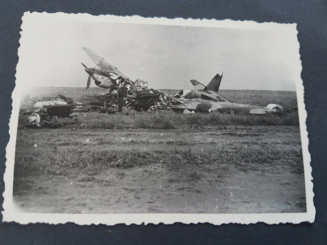 5-Fotos-Flugzeuge-Technik-Bomber-LKW-Luftwaffe-Dachbodenfund-57