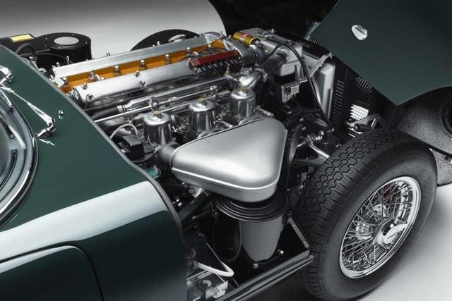 """Jaguar Classic Dévoile La Type """"60 Collection"""" : Homage Au 60e Anniversaire De La Sportive Légendaire 10-E-TYPE-OTS-engine-01"""