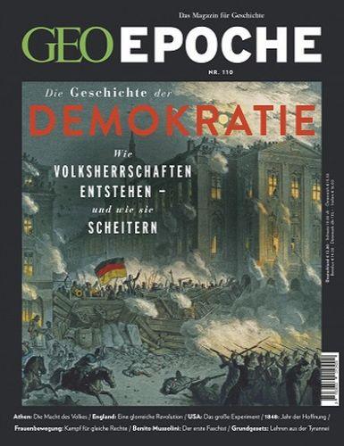 Cover: Geo Epoche Das Magazin für Geschichte No 110 August 2021
