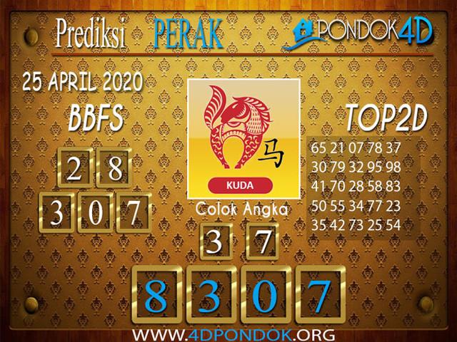 Prediksi Togel PERAK PONDOK4D 25 APRIL 2020