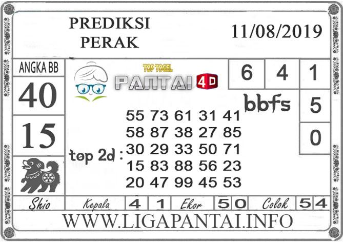 """PREDIKSI TOGEL """"PERAK"""" PANTAI4D 11 AGUSTUS 2019"""