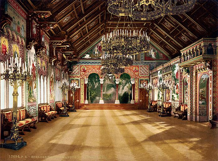 История сказочного замка Нойшванштайн