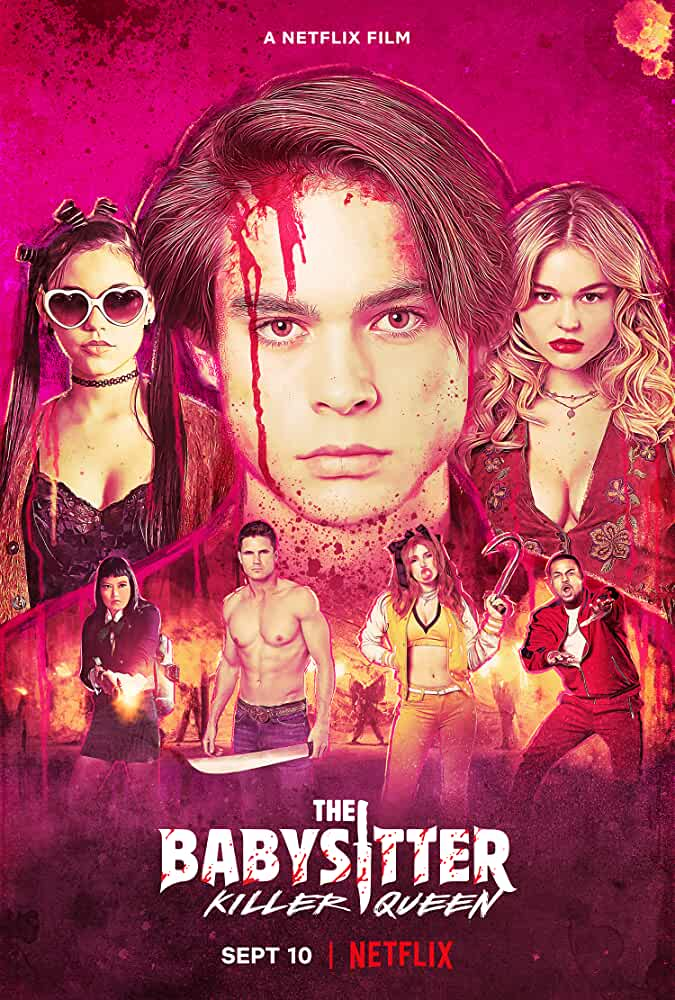 The Babysitter: Killer Queen 2020 Hindi ORG Dual Audio 720p NF HDRip ESubs 700MB | 350MB Download