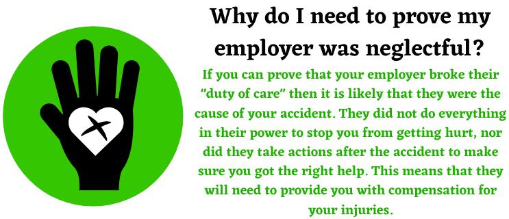 neglectful employer help