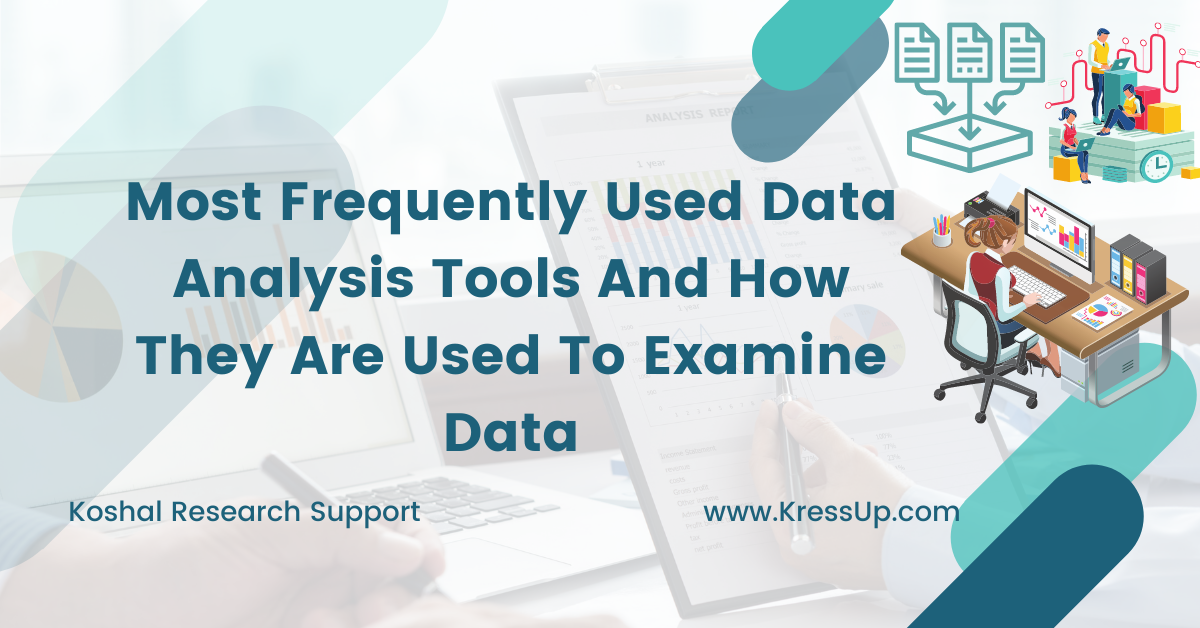 Most Frequently Used Data Analysis Tools